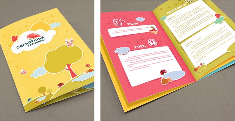 Carnations Preschool Brochure