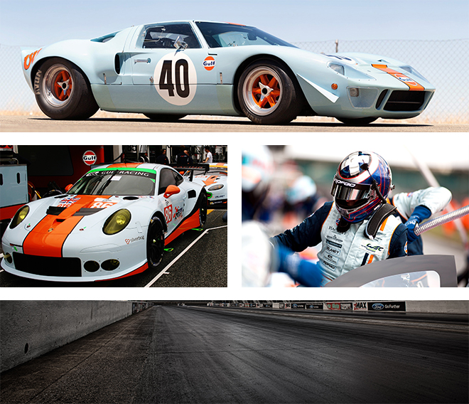 Gulf Racing Collage 1