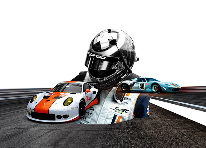 Gulf Racing Collage 2