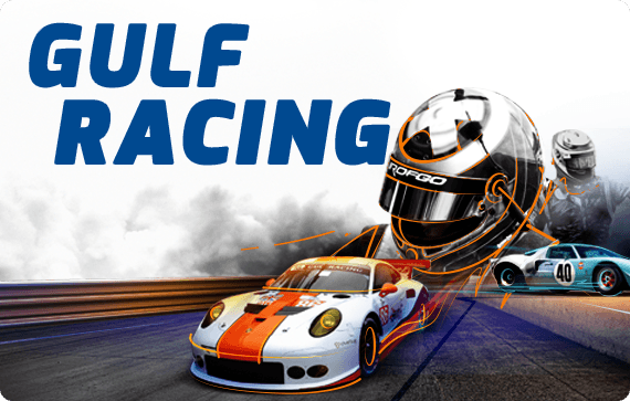 Gulf Racing website and brochure design