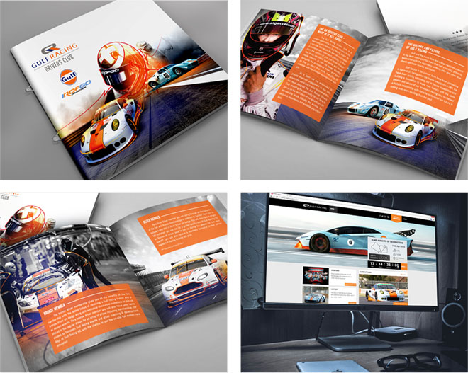 GulfRacing Brochure design by PugMarker