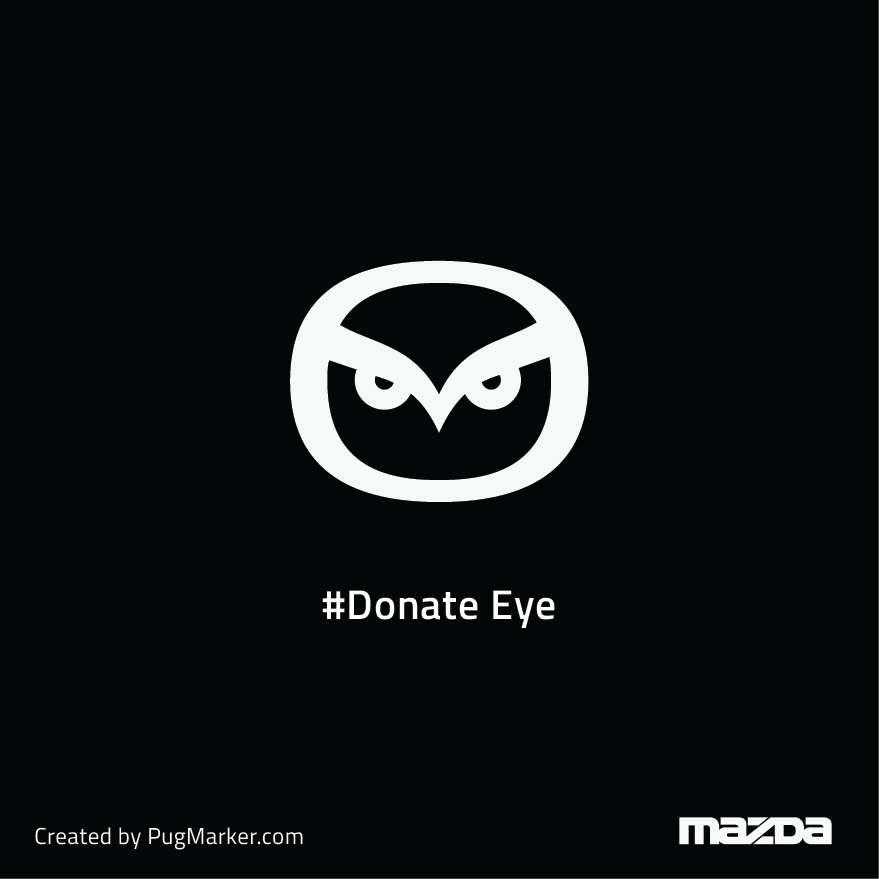 Mazda for 'Donate eye'