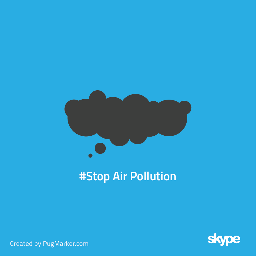 Skype for 'Stop air polution'
