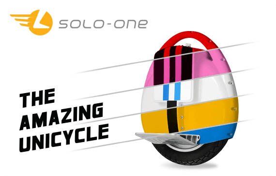 Solo One Unicycle Logo and Stationary design