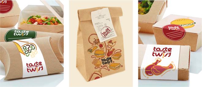 Taste n Twist Packaging by PugMarker