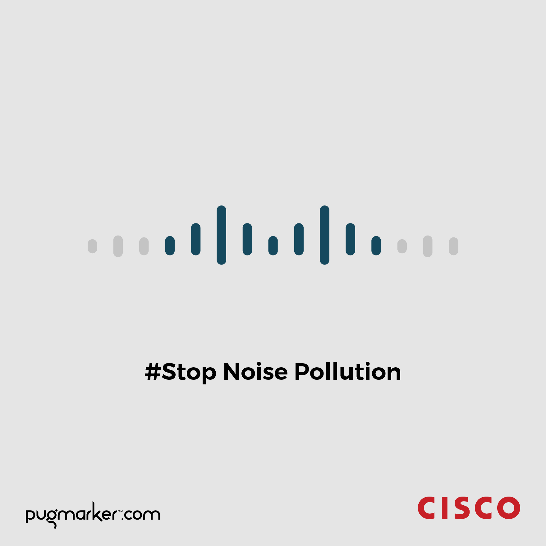 Cisco - Stop Noise Pollution