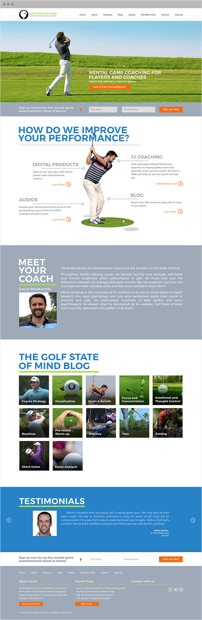 Golf State Of Mind Home Page