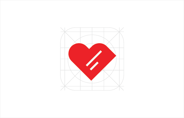 Heart Notes App Logo
