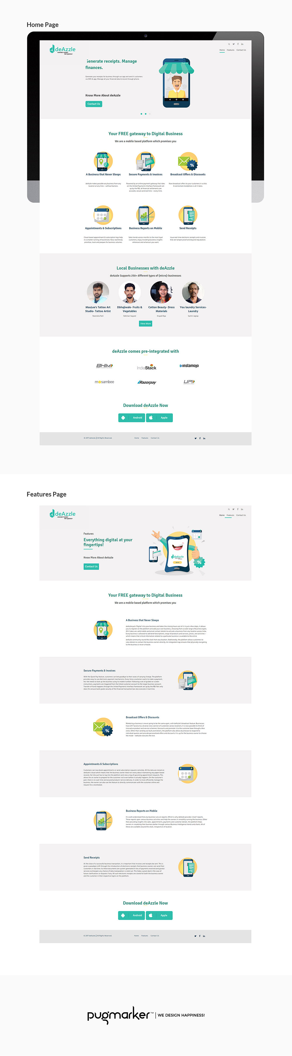 deAzzle-Presentation-Website-II