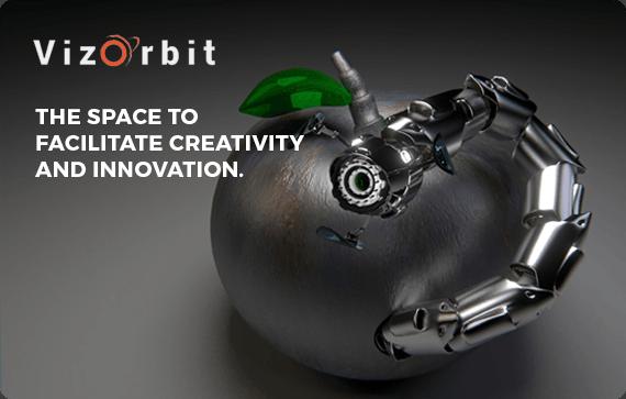 vizorbit website design project by pugmarker