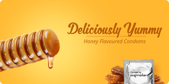 ayurvedic honey flavour condoms