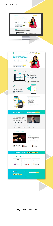 deAzzle website design