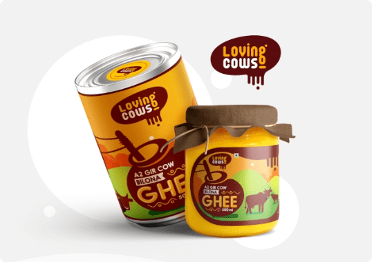 loving cows packaging design