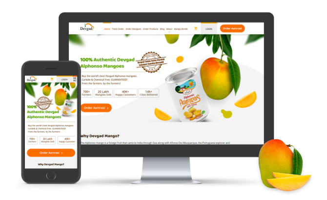 Devgad Mango Website