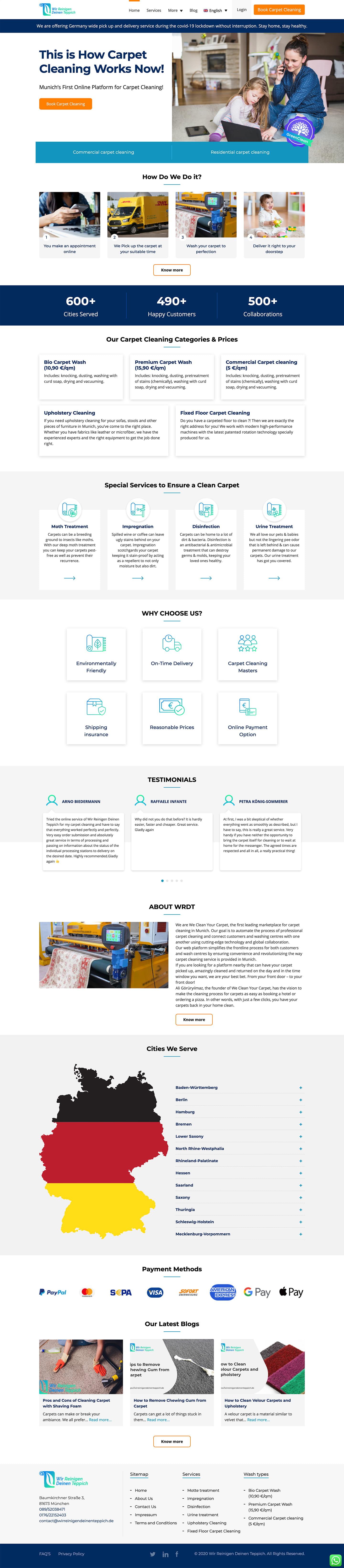 WRDT Home Page Desktop Version
